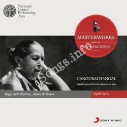 From The Ncpa Archives Gangubai Hangal Songs Free Download (From The Ncpa Archives Gangubai Hangal Movie Songs)